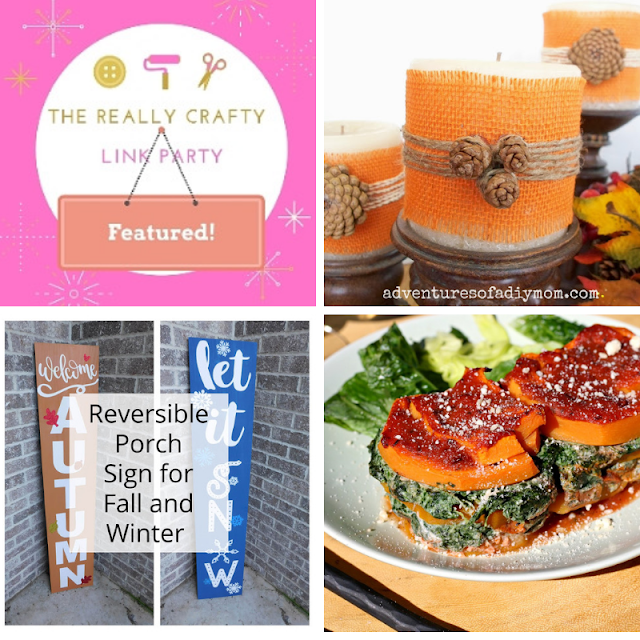 The Really Crafty Link Party #140 featured posts