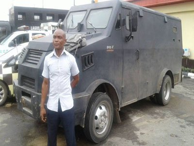 Bullion Van driver arraigned for 'driving against traffic' in Lagos