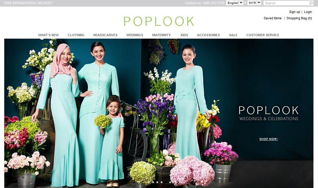 Top 10 online fashion stores in Malaysia  ecInsider