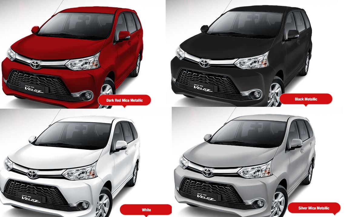 Pilihan Warna Grand New Avanza 2017 Veloz 2016 Toyota Utama Perbandingan Sienta G Dan Pilih Mana