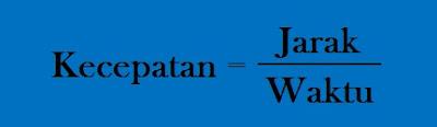 Contoh Soal Satuan Kecepatan Matematika Kelas 5 SD