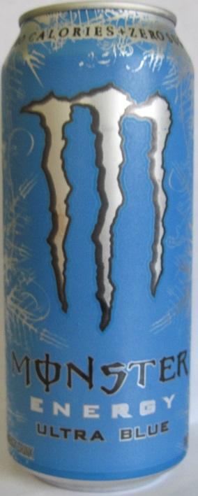Caffeine King Monster Ultra Blue Energy Drink Review