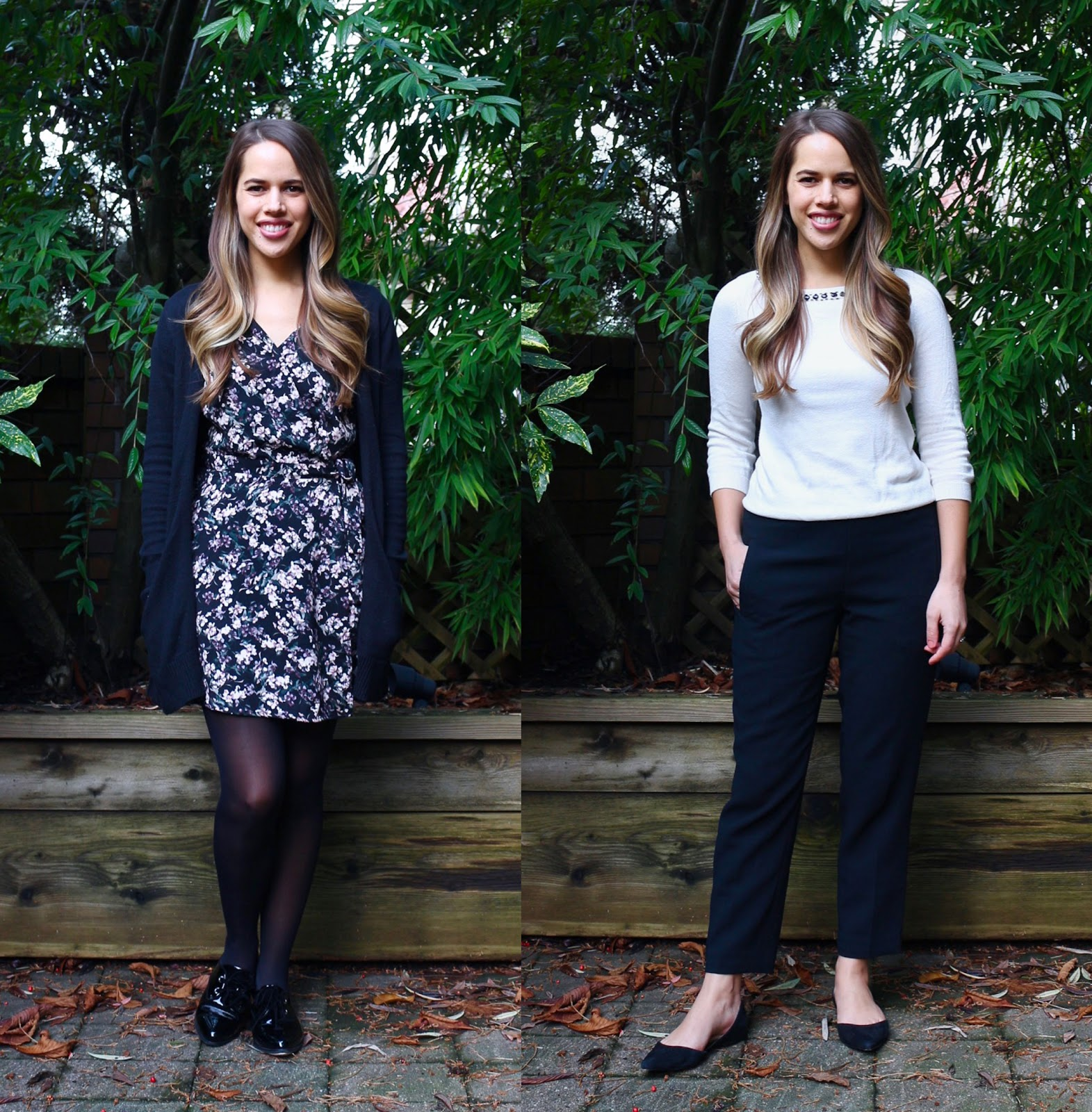 Jules in Flats - December Outfits (Business Casual Winter Workwear on a Budget)