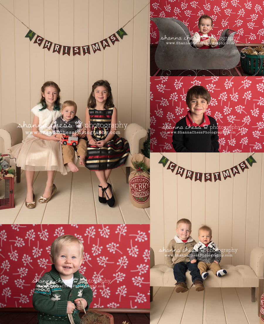 eugene oregon family photographer christmas