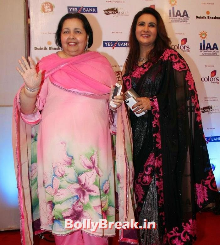 Pamela Chopra, Poonam Dhillon, International Indian Achiever's Awards Photo Gallery