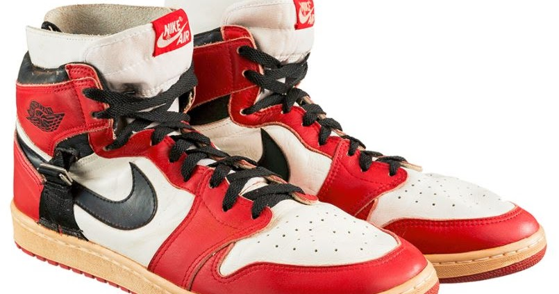 Rare Pair of Michael Jordan Sneakers from 1986 Just Sold For  55 e15fd07b1