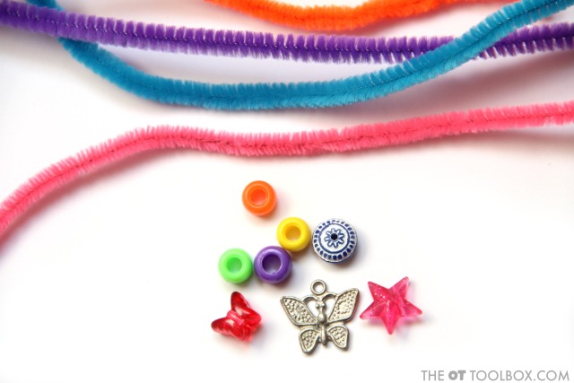 Kids Can Use This DIY Fidget Tool Zipper Pull For Addressing Sensory Needs That Result In