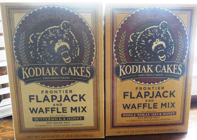 Kodiak Cakes pancake and waffles mixes