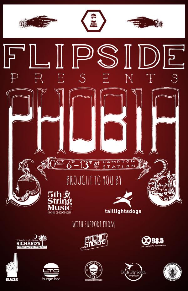 FLIPSIDE presents PHOBIA