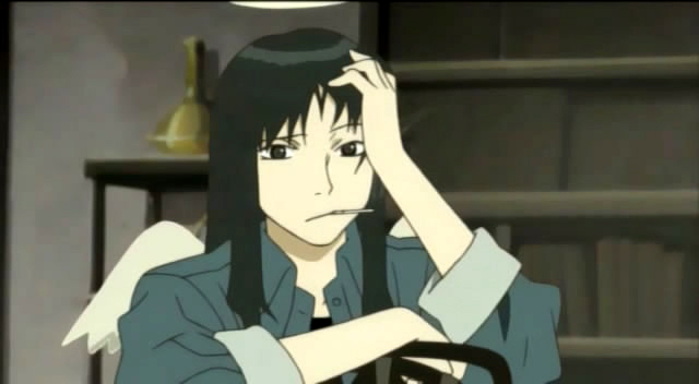 Gambar karakter anime wanita tercantik - Reki (Haibane Renmei)