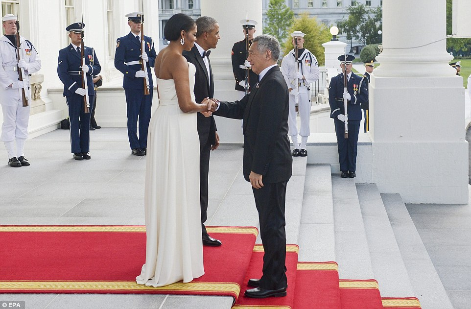 Michelle Obama Stuns At The White House State Dinner-3081