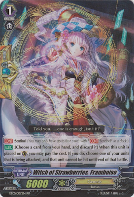 superheroes series, adventure, fantasy, writing, story, Cardfight!! Vanguard TCG card game, anime, witch of strawberries, framboise, raspberry