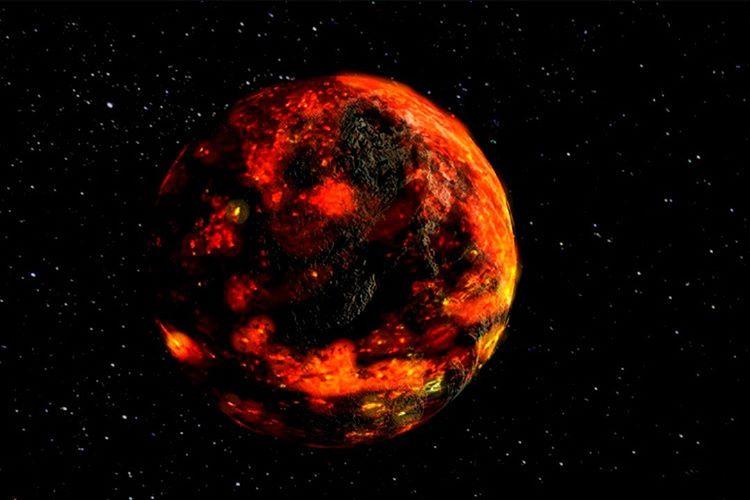 Başlarda Ay magmadan meydana geliyordu ve simit biçimindeydi, birgün Mars kadar büyük bir objeyle çarpıştı.