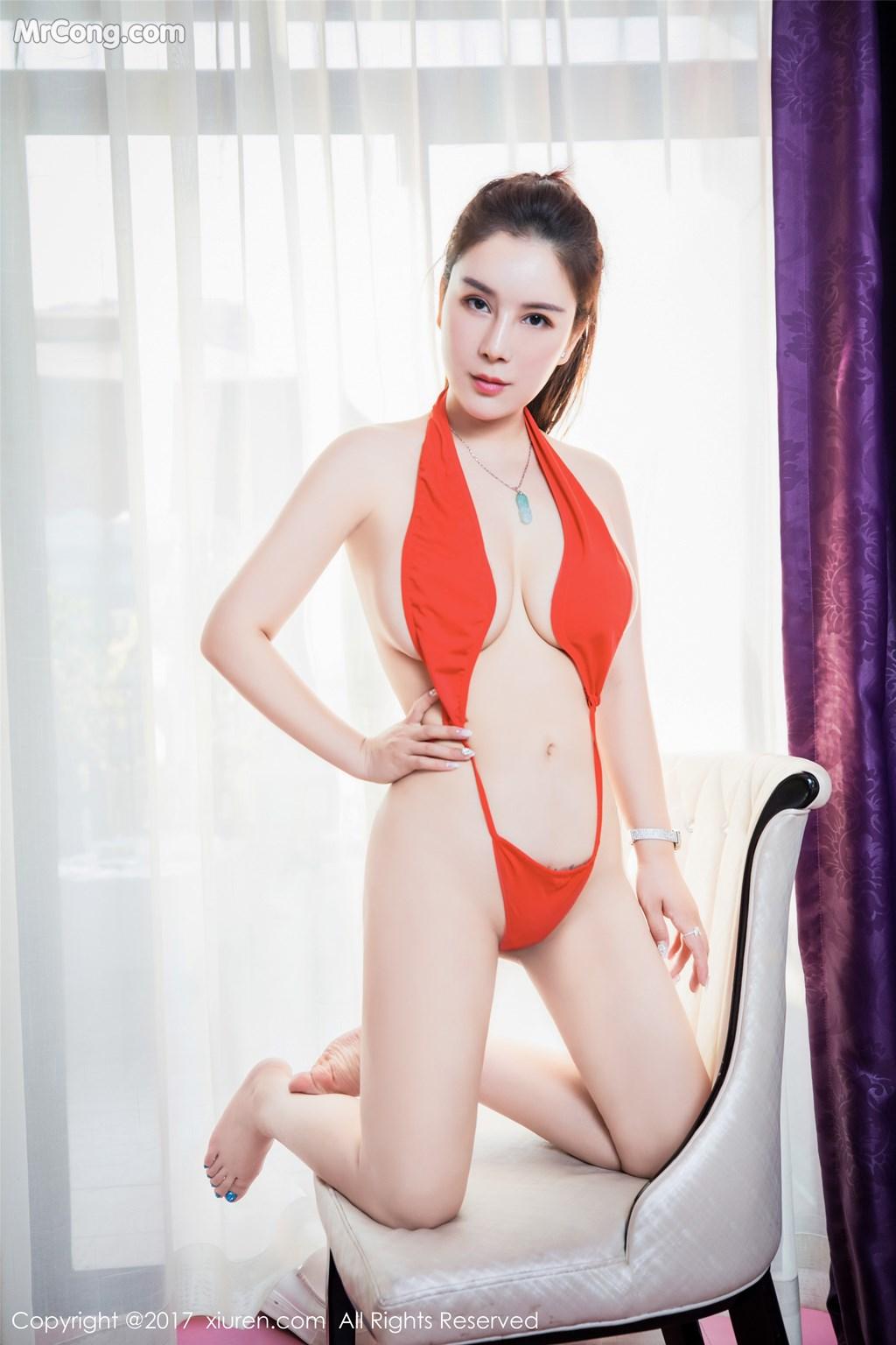 Image XIUREN-No.839-Xue-Qian-Xun-MrCong.com-036 in post XIUREN No.839: Người mẫu Xue Qian Xun (雪千寻) (44 ảnh)