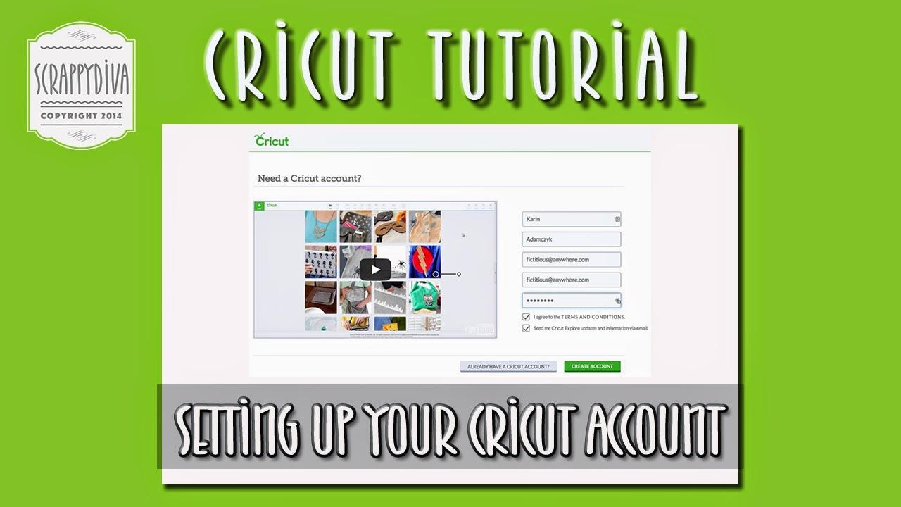 Cricut Craft Room Help: Setting Up Your Cricut.com Account To Use Cricut Craft