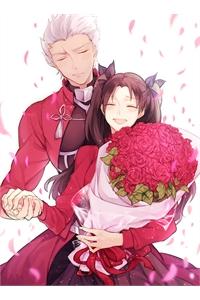 Fate/ Stay Night Archer x Rin Doujinshi