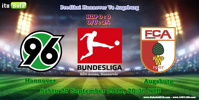 Prediksi Hannover Vs Augsburg - ituBola