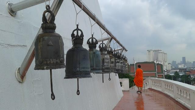Campanas del templo Golden Mount