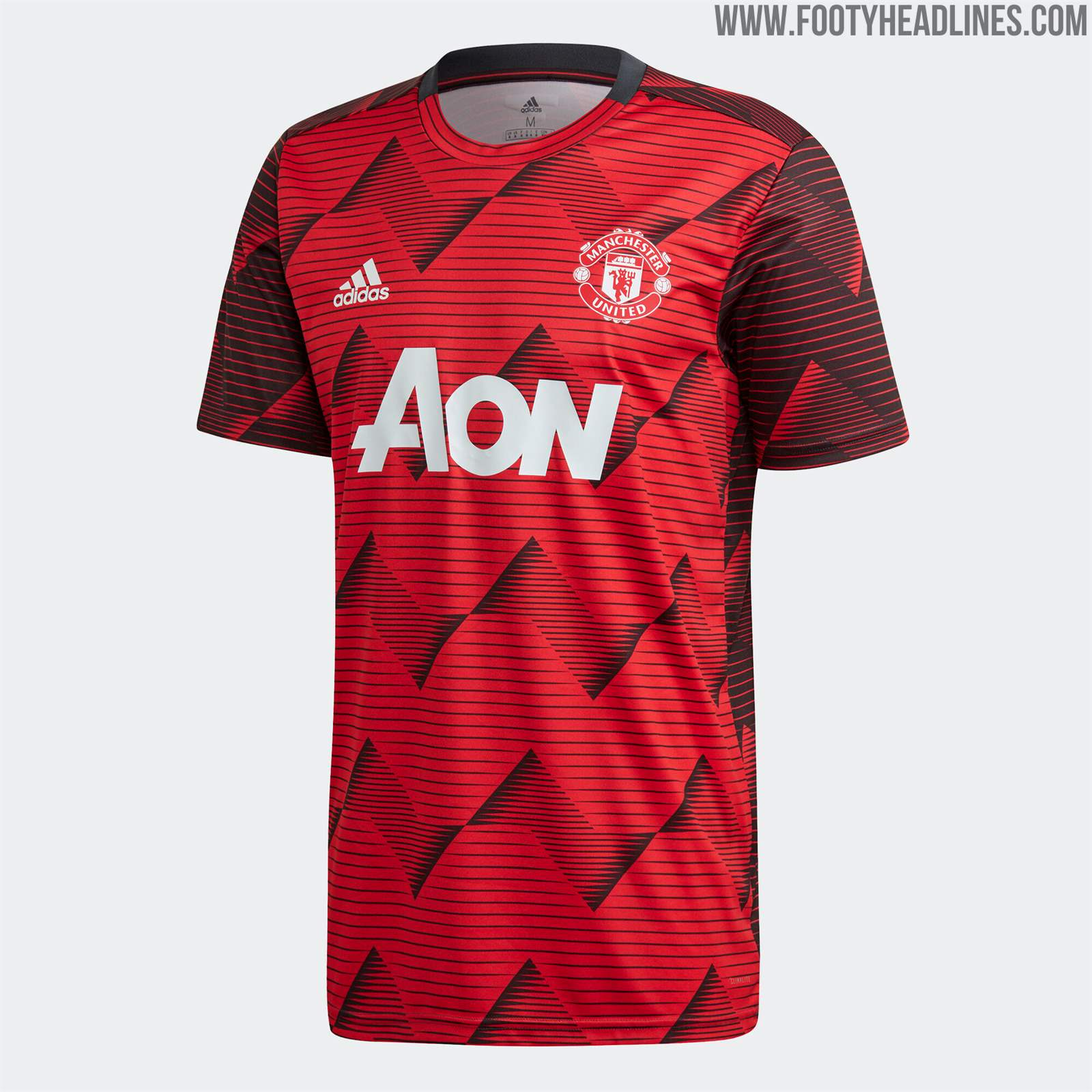 Manchester United 2020 Pre-Match Kit Released & Training ...