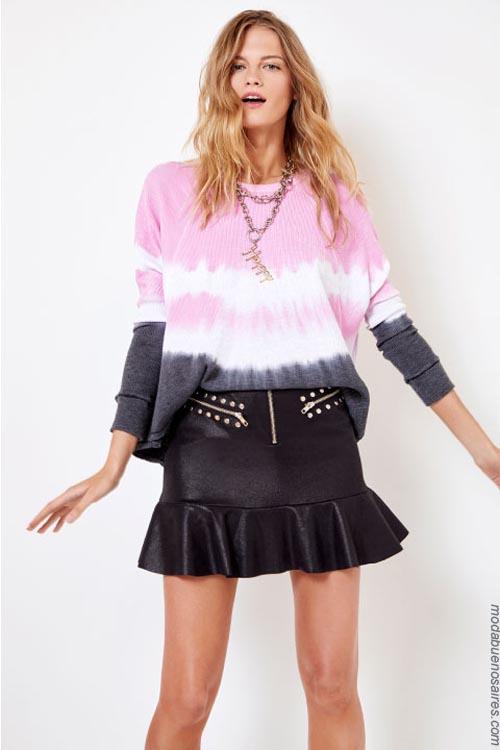 Sweaters degrade primavera verano 2019. Moda primavera verano 2019.