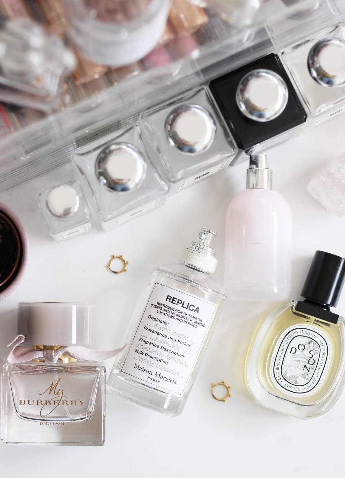Perfume Jo Malone Maison Margiela Replica Diptyque Glossier