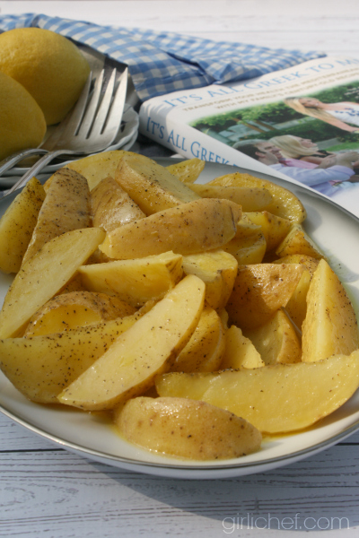 Lemonates Patates (Lemon Potatoes)