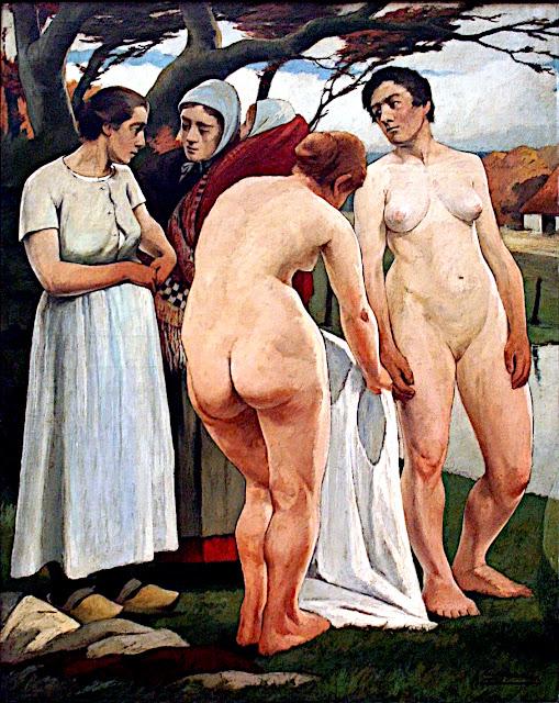 Eugène Laermans: Bagnanti