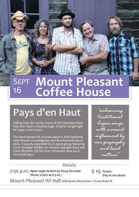 img September 16 Mount Pleasant Coffee House Poster