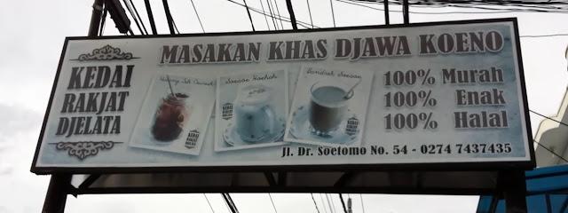 Kedai Rakyat Djelata Yogyakarta