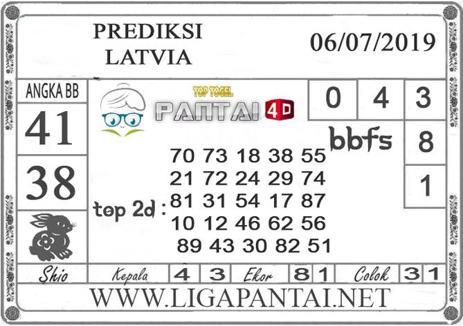 """PREDIKSI TOGEL """"LATVIA"""" PANTAI4D 6 JULI 2019"""