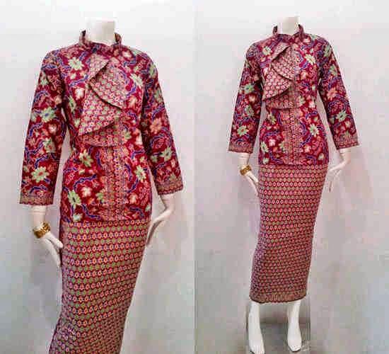 Gambar Model Baju Batik Untuk Pramugari Terbaru