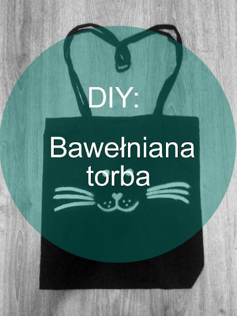 DIY: Bawełniana torba z własnym obrazkiem