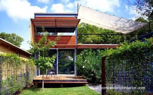 Casa contemporánea americana prefabricada en Texas