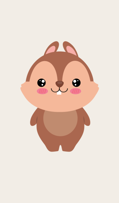 Face squirrel Theme