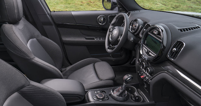 Mini Countryman Cooper S interior