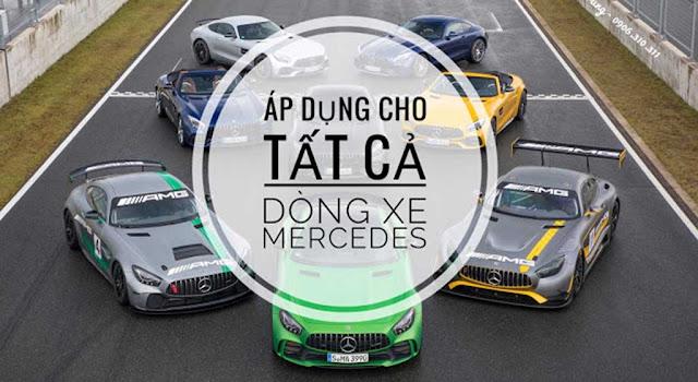 Mercedes Trường Chinh áp dụng Chương trình khuyến mãi cho tất cả các dòng xe