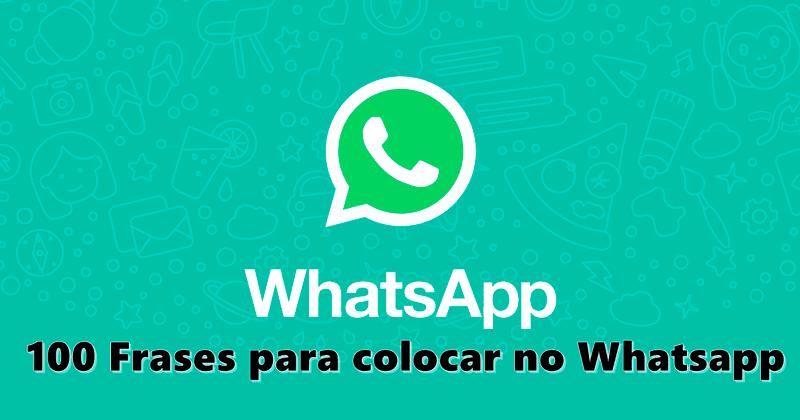 Uma Coisa Eu Aprendi Na Vida Deus Não Te Tira As Coisas: 100 Frases Para Colocar No Whatsapp