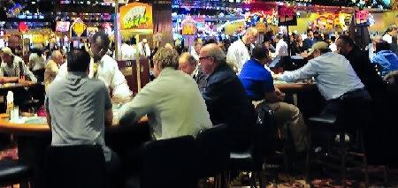 Mesas de blackjack en un casino
