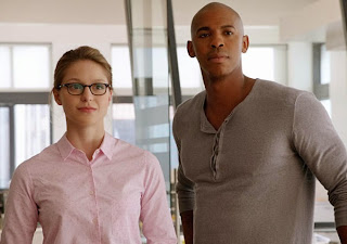 Supergirl Melissa Benoist Mehcad Brooks CBS tv show