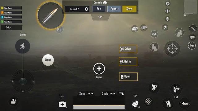 kontrol pubg mobile dengan 3 tiga jari biar lancar nembak musuh