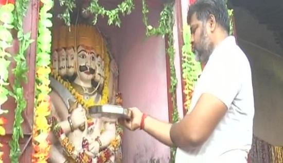Kanpur, Uttar Pradesh, UP, Ravana, Vijay Dashmi, dashanan mandir, dashanan temple, Dussehra, Kanpur Dashanan Temple