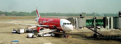 arriving at yangon airport