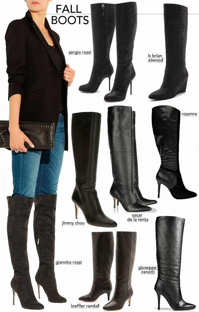 6820a4ada7db0 ... a classic black boot - you can't go wrong. You can pair them up with  anything from skinny jeans to leather skirts. Are Fall boots on your  must-buy list?