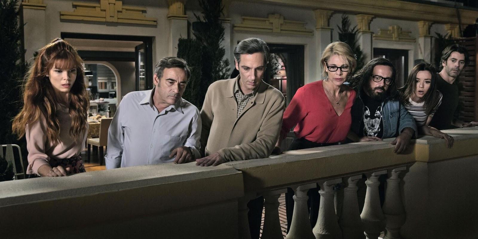 PERFECTOS DESCONOCIDOS - reparto película