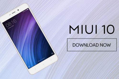 Download ROM MIUI 10 Global Stable Gratis