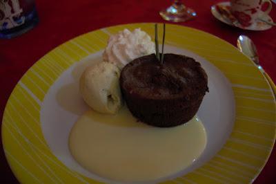 Dessert restaurant The Yellow à Fort de France, Martinique.
