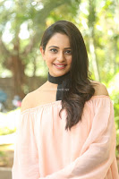 Rakul Preet Singh in lovely Pink Crop Top and Black Trousers at Jaya Janaki Nayaka success meet 025.JPG