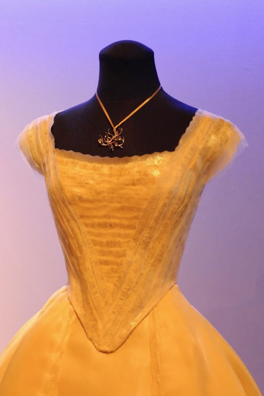 Beauty and the Beast Belle gown detail