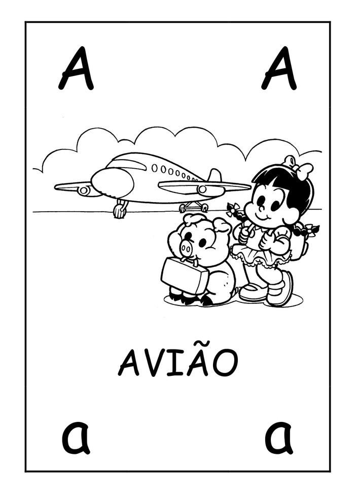 Alfabeto Turma Da Monica Para Colorir Atividades Atividades E