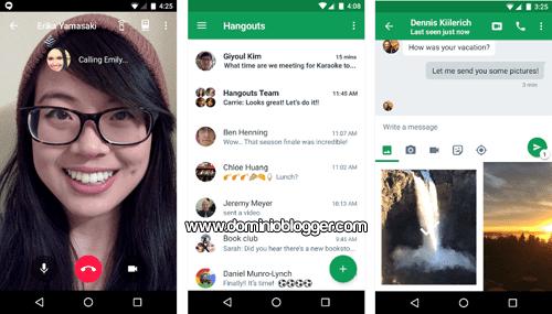 Videollamadas y mensajes gratuitos con Hangouts
